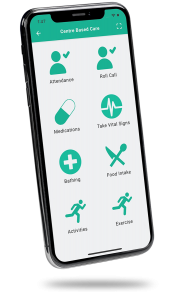CARES4CAREGIVERS Monitoring App