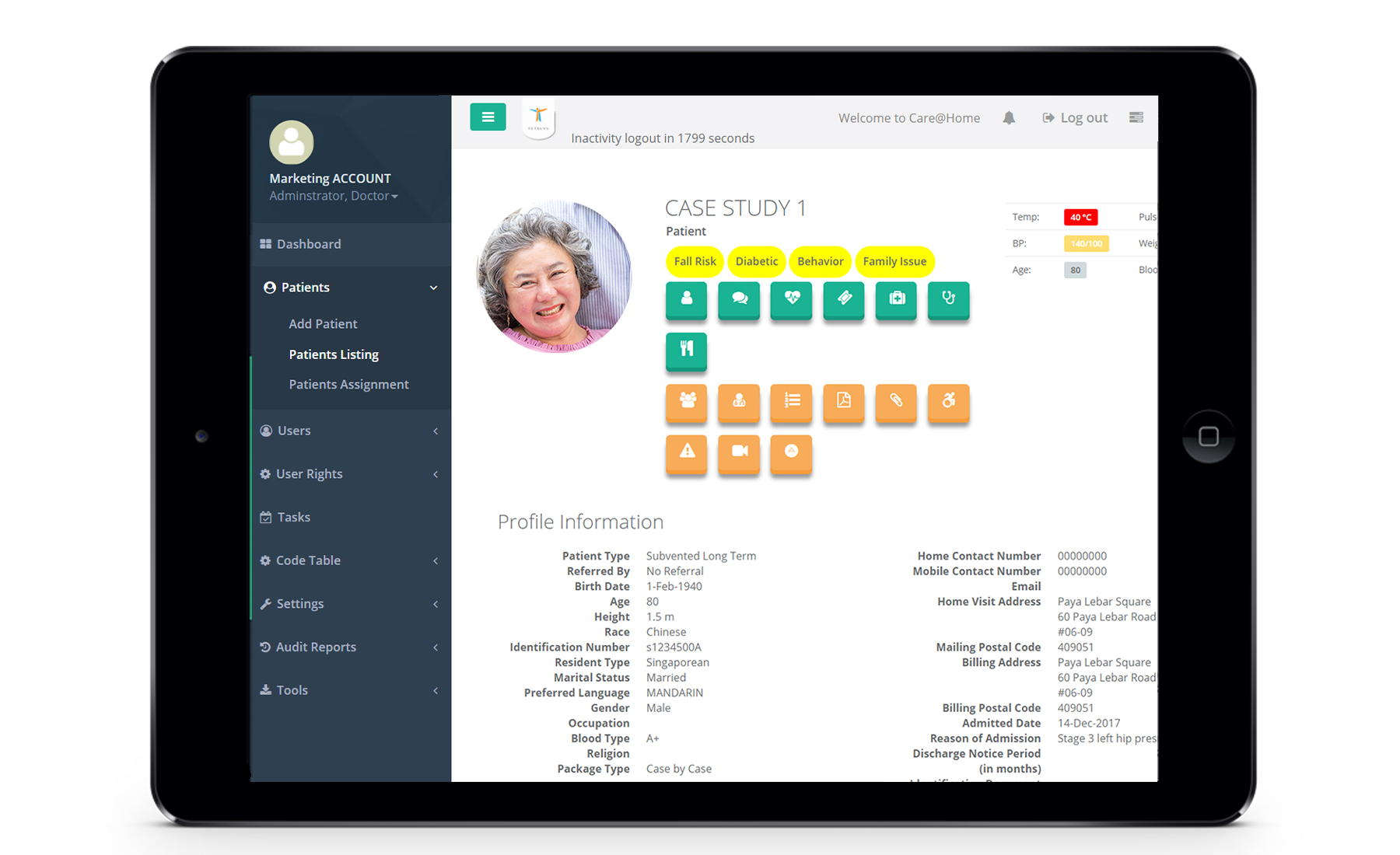 CARES Cares Management Platform